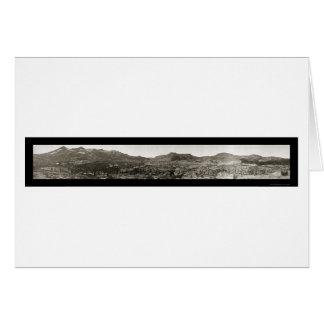 Foto 1906 de Tahoe CA del valle de la desolación Tarjeta De Felicitación