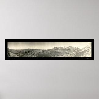 Foto 1906 de Tahoe del valle de la desolación Póster