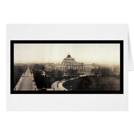 Foto 1906 tarjeta de felicitación