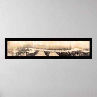 Foto 1907 de Carnegie del día de los fundadores Impresiones
