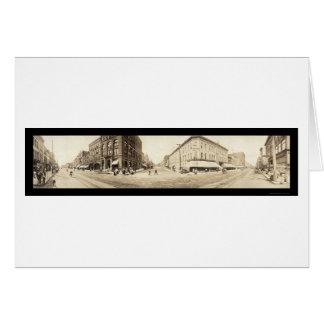 Foto 1907 de Davenport Iowa Tarjetas