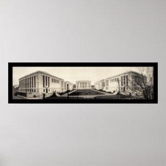 Foto 1907 de la Facultad de Medicina de Harvard Posters