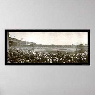 Foto 1907 de la serie de Cubs de tigres Póster