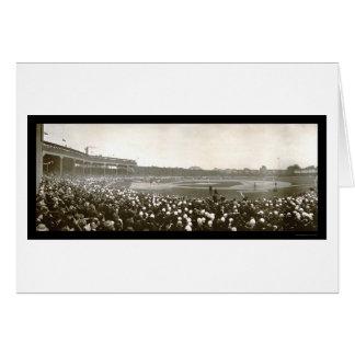 Foto 1907 de la serie de Cubs de tigres Tarjeta De Felicitación