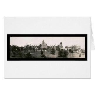 Foto 1907 de la universidad de Randolph Macon Tarjeta De Felicitación