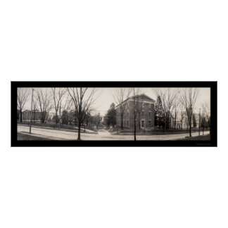 Foto 1907 del PA de la universidad de Allegheny Póster