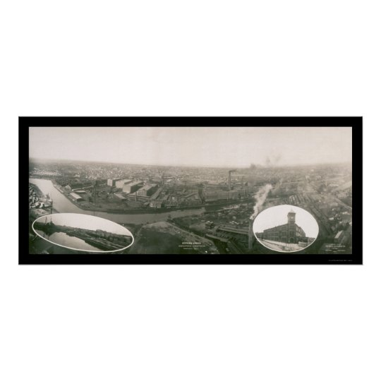Foto 1907 International Harvester Company Póster