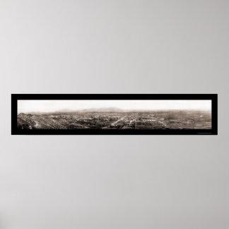 Foto 1908 de CA Birdseye de la orilla Póster