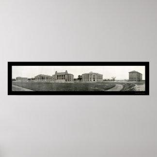 Foto 1908 de la universidad de Syracuse Impresiones