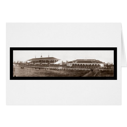 Foto 1908 de Santa Anita de la gradería cubierta Tarjeta De Felicitación