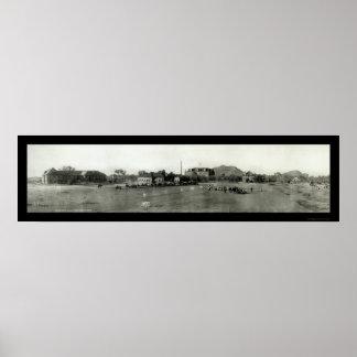 Foto 1908 del campus de Tempe AZ Póster