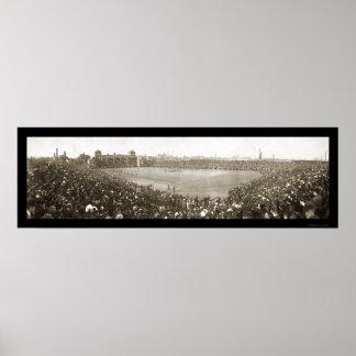 Foto 1908 del fútbol de la marina de guerra del ej impresiones