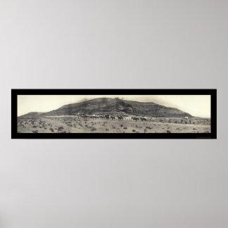 Foto 1908 del nanovoltio del molino de la minería  poster