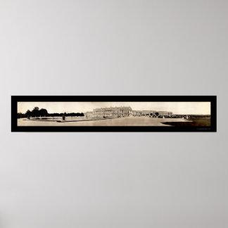Foto 1908 del palacio de Versalles Impresiones