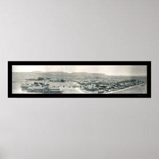 Foto 1909 de Bayard New México del fuerte Posters