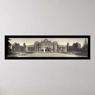 Foto 1909 de la universidad de Vassar Poster