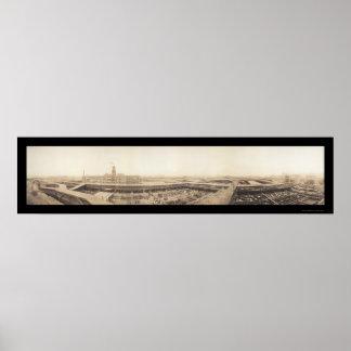 Foto 1909 de los corrales de Kansas City Impresiones