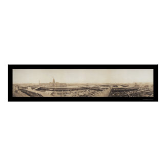 Foto 1909 de los corrales de Kansas City Póster