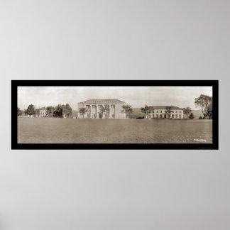 Foto 1909 de los edificios de West Point Poster