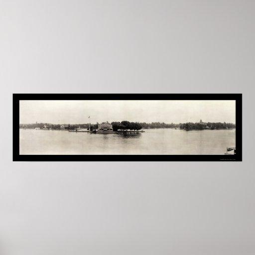Foto 1909 de mil islas, Nueva York Póster