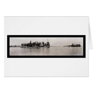Foto 1909 de mil islas, Nueva York Tarjeta De Felicitación