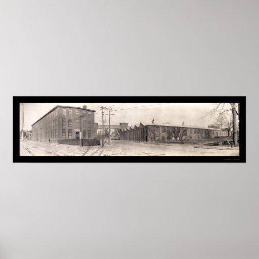 Foto 1909 de Pawtucket RI de la compañía Posters