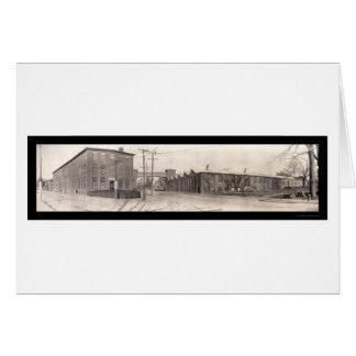 Foto 1909 de Pawtucket RI de la compañía Tarjeta De Felicitación