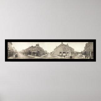 Foto 1909 de Pocatello Idaho Póster
