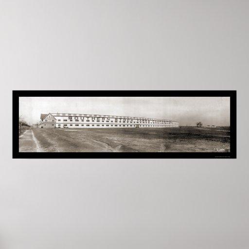 Foto 1909 de Richmond VA de los corrales Póster