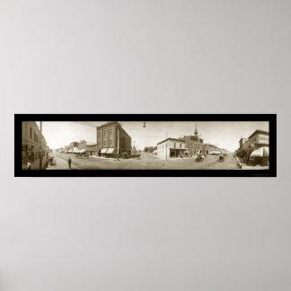 Foto 1909 de Sheridan Wyoming Póster