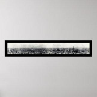 Foto 1909 de Trenton NJ Póster