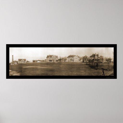 Foto 1909 de Univ de la unión de Richmond VA Póster
