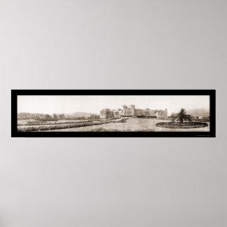 Foto 1909 del alfarero del hotel de Santa Barbara  Impresiones