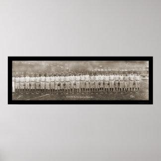 Foto 1909 del club de los Pittsburgh Pirates Póster