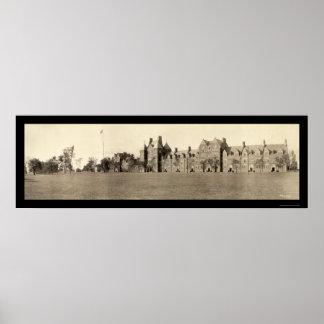 Foto 1909 del CT de la universidad de la trinidad Póster
