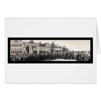 Foto 1909 del PA de Allegheny Pittsburgh Tarjeta De Felicitación