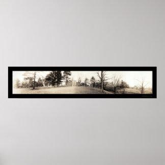Foto 1909 del PA de la universidad de Allegheny Póster
