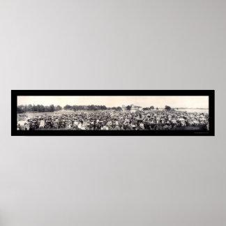 Foto 1909 del panorama del automóvil póster