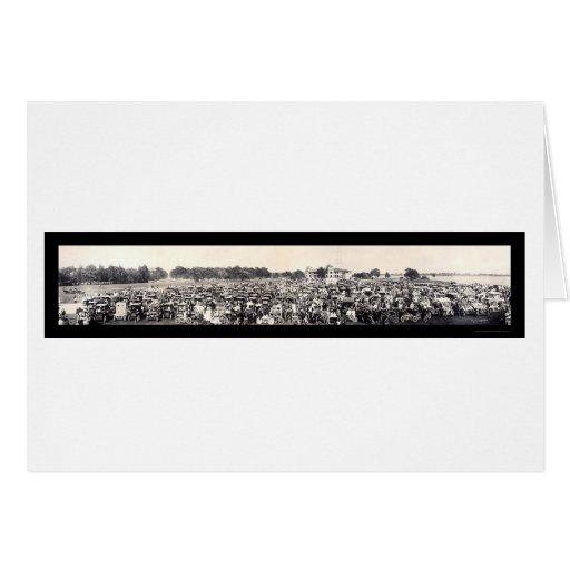 Foto 1909 del panorama del automóvil tarjetas