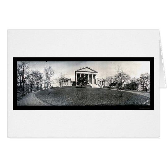 Foto 1909 del VA del capitolio de Richmond Tarjeta De Felicitación