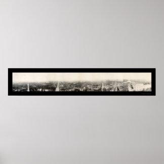 Foto 1909 del Washington DC Póster