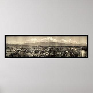 Foto 1910 de Garvanza Los Ángeles Póster