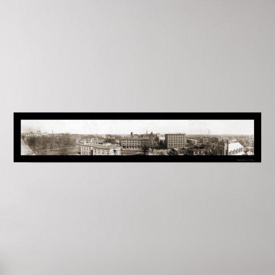 Foto 1910 de Jackson, ms Póster