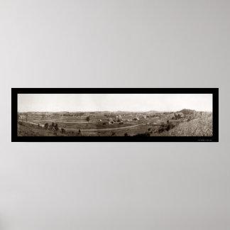 Foto 1910 de Johnson City TN Póster