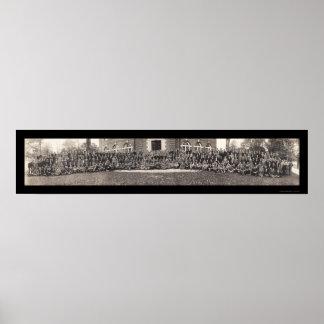 Foto 1910 de la clase Phillips Andover Poster