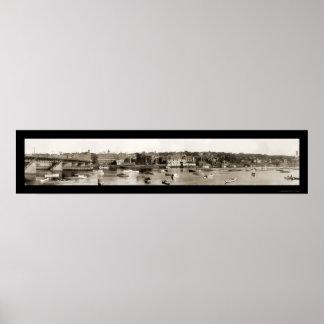 Foto 1910 de la costa de Haverhill Impresiones