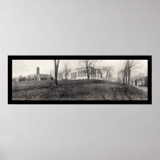 Foto 1910 de la universidad de los penachos póster