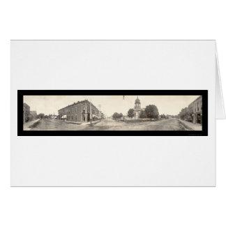 Foto 1910 de Winterset Iowa Tarjeta De Felicitación