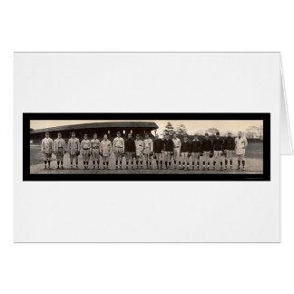 Foto 1910 de Yale del béisbol del equipo Tarjeta De Felicitación