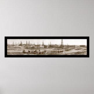 Foto 1910 del aceite de Núcleo de condensación Mon Impresiones